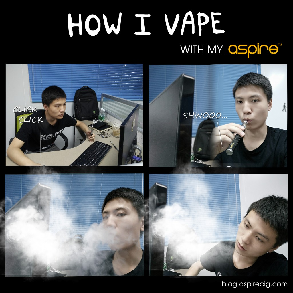 how i vape with my aspire2
