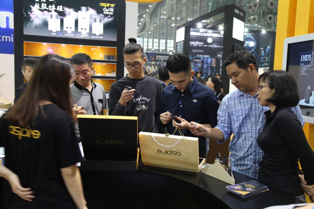 aspire Shenzhen vape show