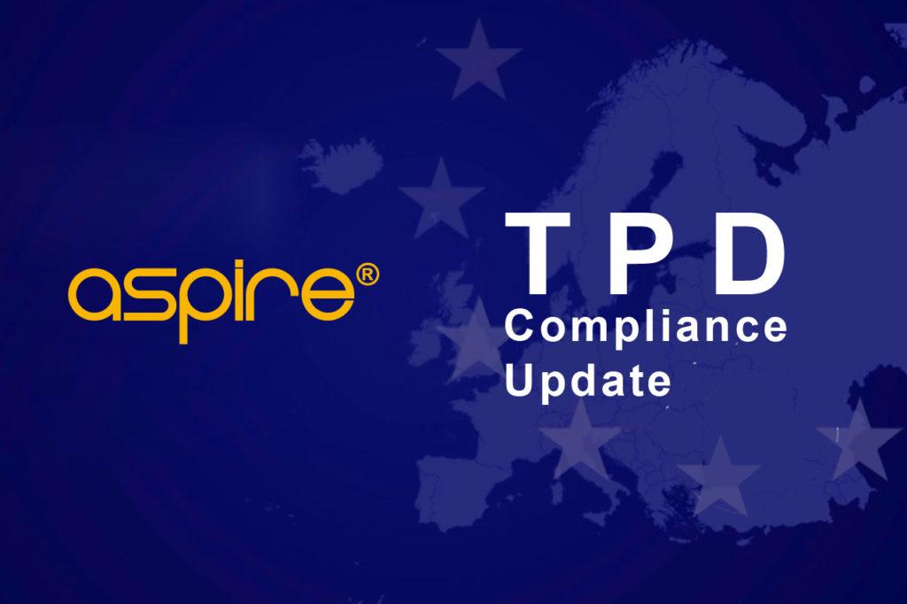 Aspire TPD Compliance,TPD-Complaint,TPD,Aspire