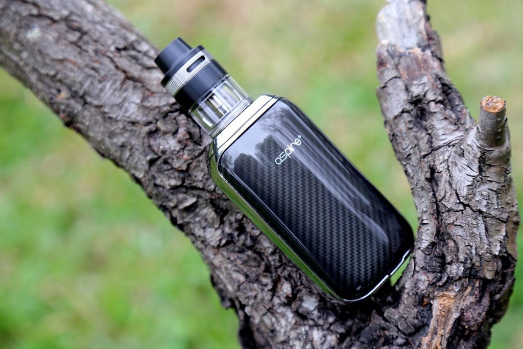 Aspire SkyStar Revvo kit in black fibre