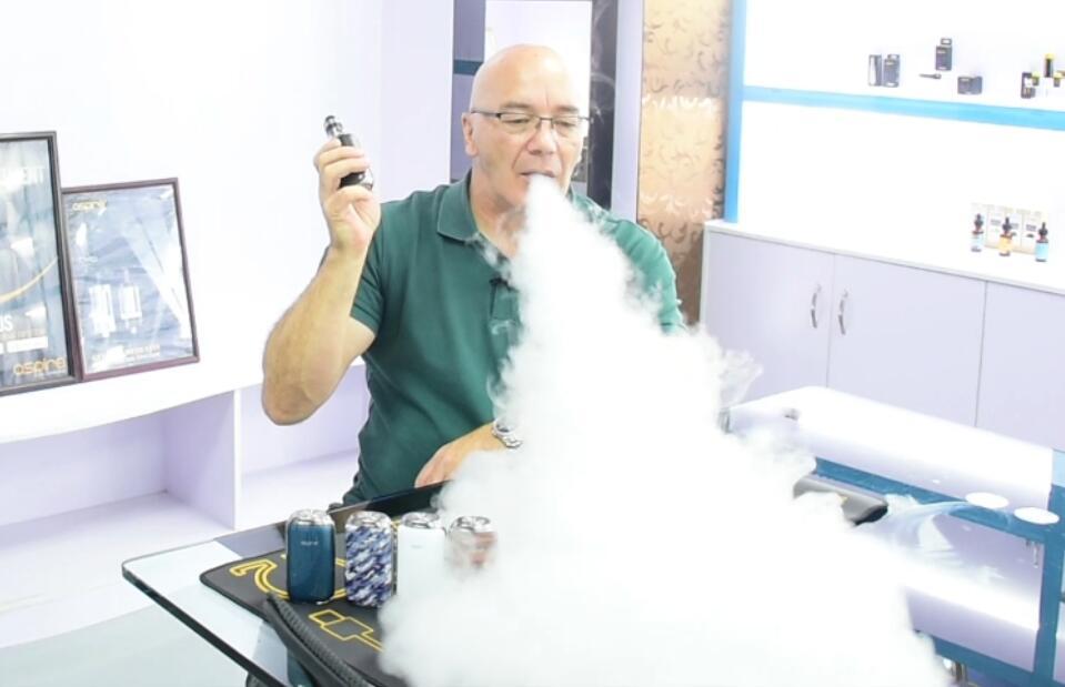 Aspire Skystar Revvo kit flavor and vapor
