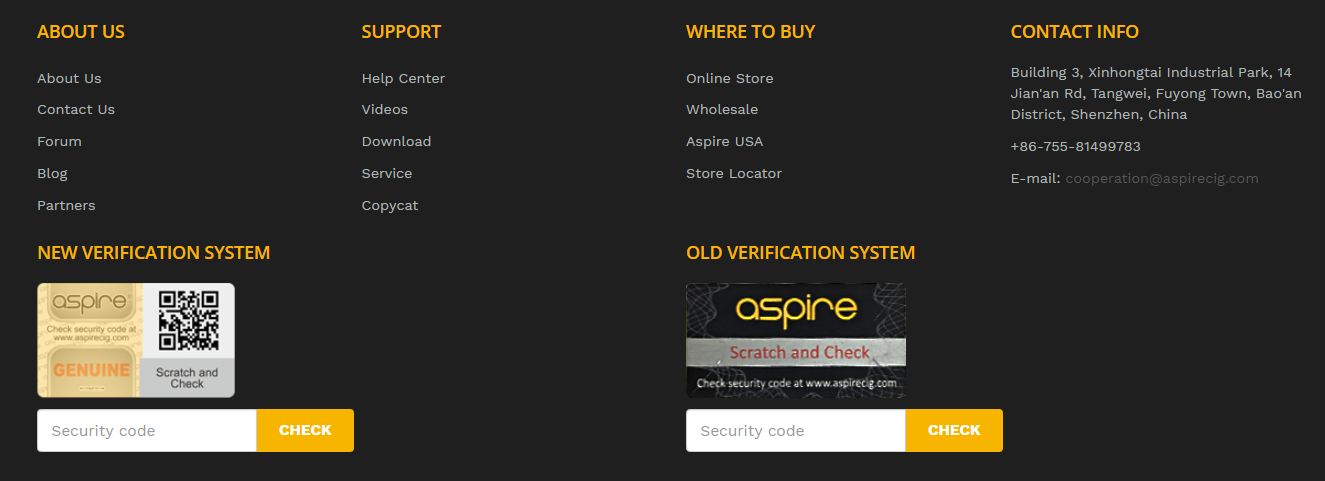How To Check The Security Code Aspire Blog