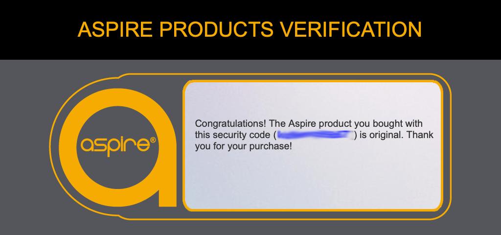 aspire verification