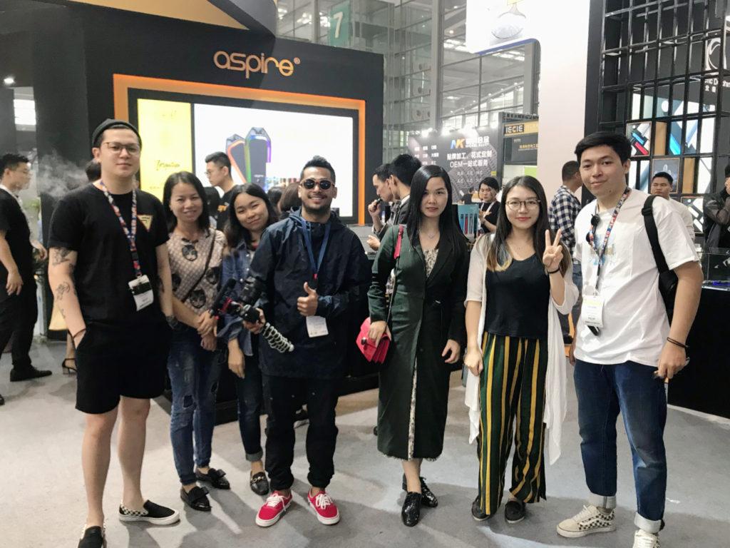 ASPIRE Shenzhen eCig EXPO 2019