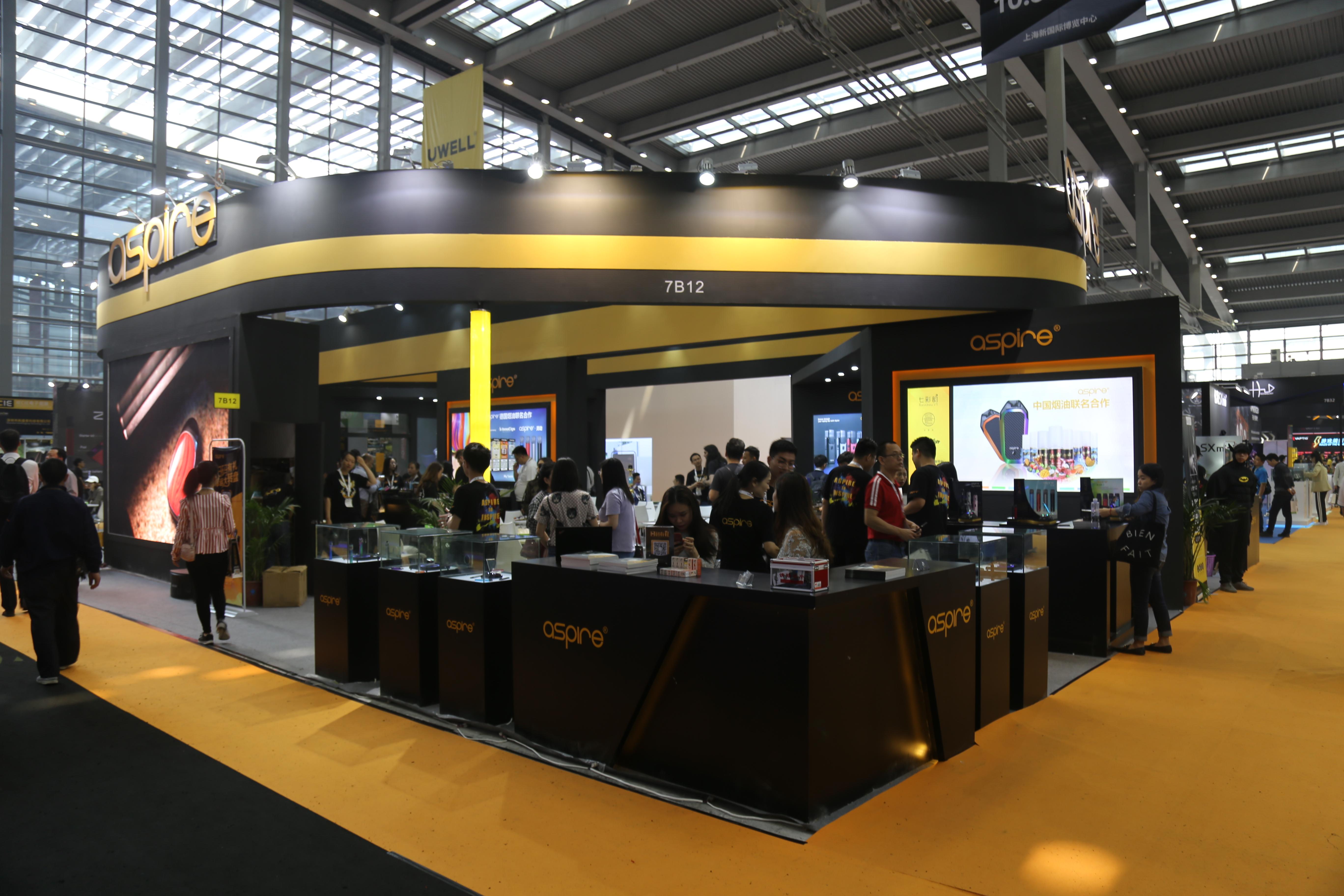 ASPIRE IECIE Shenzhen eCig EXPO 2019