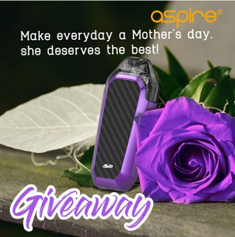 Aspire Mother's Day giveaway