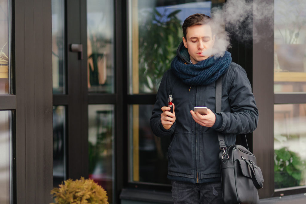 Some vapers choose mouth inhalation as a vaping  inhalation technique.