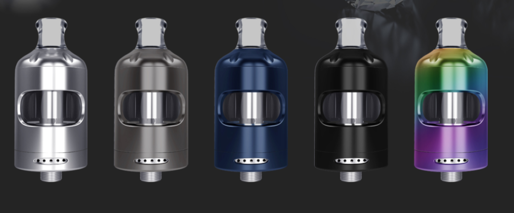 Nautilus 2S with shorter drip tips.