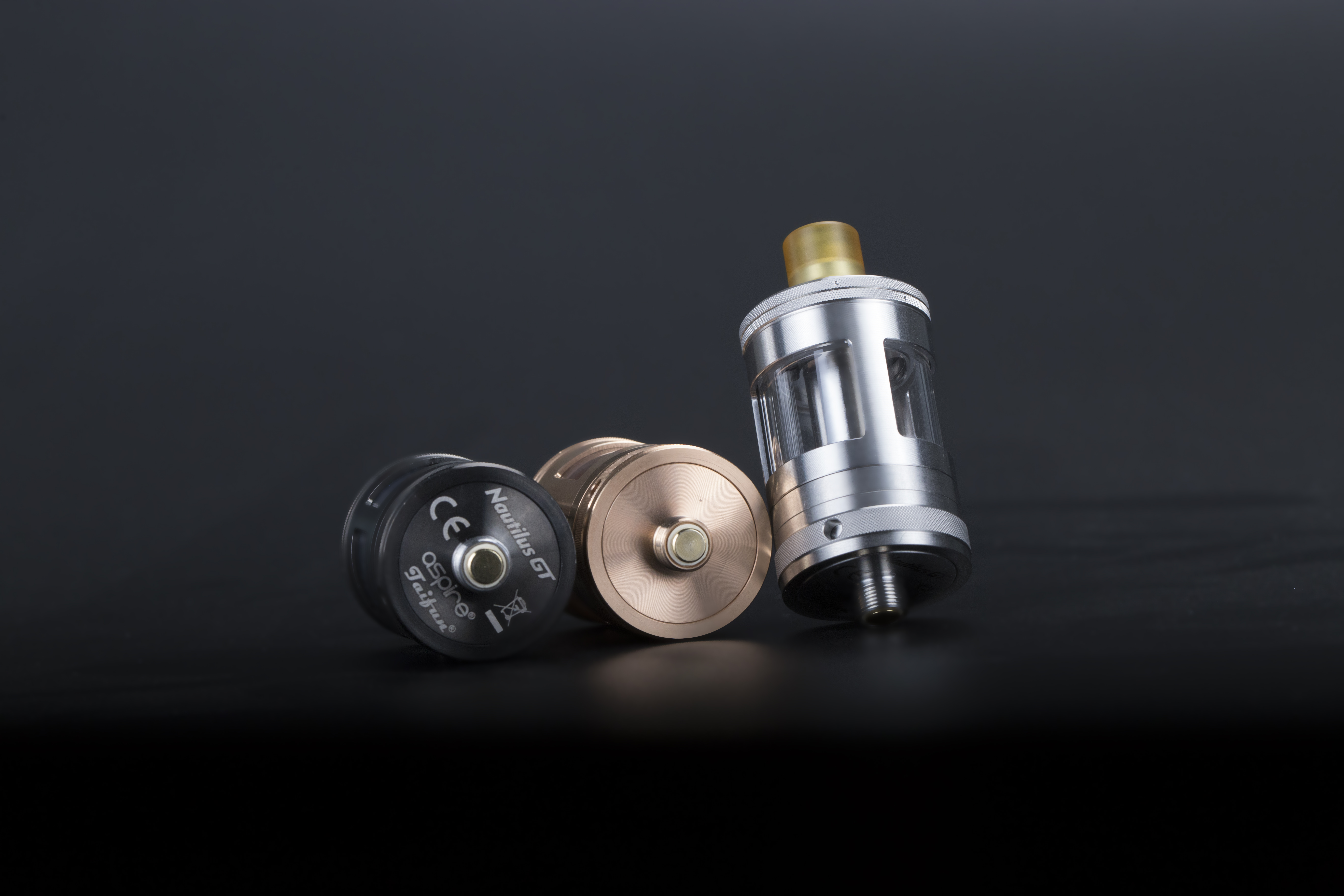 One of the best tanks for chain vaping, the Nautilus GT Tank.