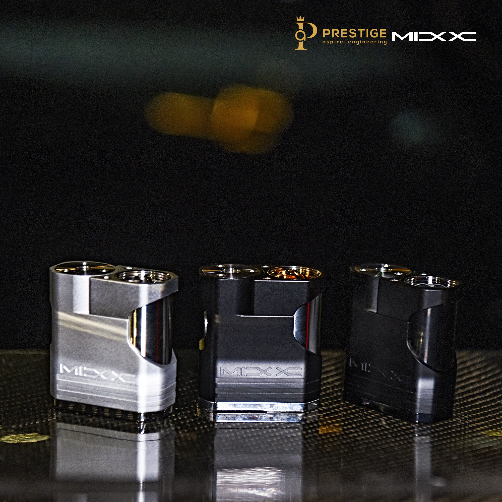The Aspire MIXX with the 18350 metal sleeve.